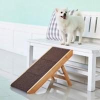 강아지 원목 계단 슬라이드 스텝