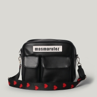 마스마룰즈 Leather cross bag