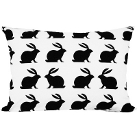 pillow cover bunny