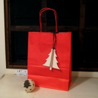 gift bag RED CHRISTMAS