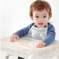 아기식탁커버 일회용턱받이 대용량 특가 50매