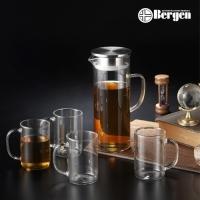 [베르겐] 슬림 글라스 물병&머그 5종 세트
