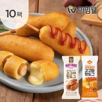 [아임닭] 닭가슴살 고구마 핫도그 2종 10팩