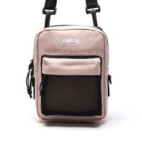 UNION SUPER MESH CROSS BAG - BEIGEPINK_(1371763)
