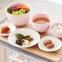 [에르모사 키친] 1인 홈세트 6p 혼밥세트 1인용 식기 혼밥족
