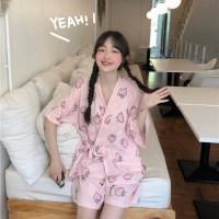 핑크 모모 잠옷 파자마