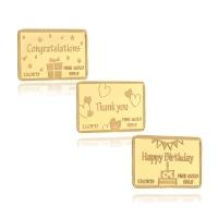 로이드 골드바 1g 24K Gold Gift 카드 (3종 택 1) LFZ2003AZ