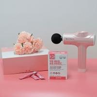 [텐텐단독] 홀릭 마사지건+슬림 장건강(30포 1box) SET