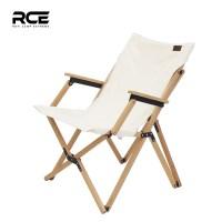 RCE 접이식 캔버스 우드 암레스트 감성 캠핑 의자 체어