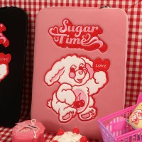 SUGAR TIME LAPTOP/iPAD POUCH(PINK)