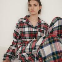 (w) Royal Tartan Pajama Set