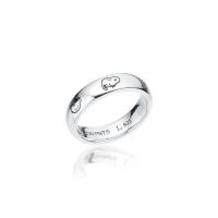 [로이드x스누피] 스누피 프렌즈 라운드 Silver 반지 LLRS20T01NSS