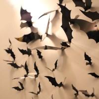 할로윈 입체 장식 박쥐 필름 44개입 세트_(301828012)