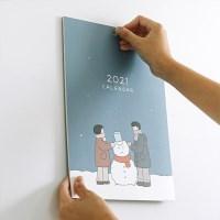2021 일상 벽걸이 달력-너와 함께한 계절(캘린더)