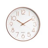 로즈골드벽시계 인테리어벽시계 사무실벽시계 거실벽시계 벽걸이시계