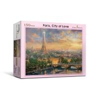 [액자포함]직소퍼즐 150조각 사랑의 도시 파리PL150-30