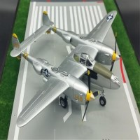 P-38 Lighting 라이트닝 전투기 모형 공군 조종사 P38