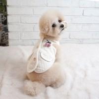 강아지잠옷 강아지수면복 강아지조끼 다이아수면조끼_(1267607)