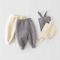 돌핀웨일 패딩팬츠토끼모자세트(60~110cm)