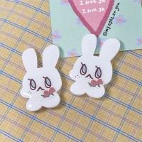 lovey tok(acrylic)/그립톡/스마트톡/토끼모양그립톡