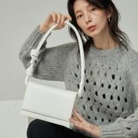 brick rope bag _ white