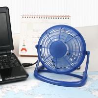USB 미니 버거 선풍기 - 블루