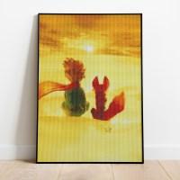 보석십자수 어린왕자와 사막여우 DIY 픽스아트 큐빅 비