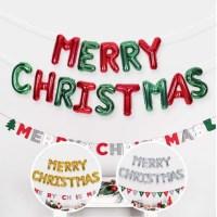 은박풍선세트 MERRY CHRISTAMS 3색/크리스마스 풍선