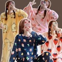 꿀잠 따뜻 수면 파자마 잠옷 세트 8종