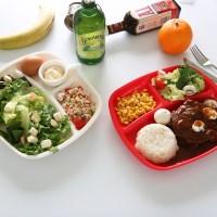 사각 나눔접시 다이어트식판