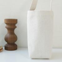 헤링본 캔버스 방수 텀블러 물통 가방 파우치 에코백