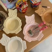 [유니랜드] 고양이 볼 디저트 그릇(접시)