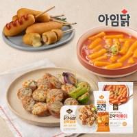 [아임웰] 떡순핫세트(떡볶이+순대+핫도그)