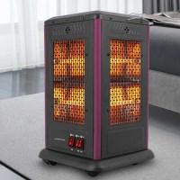 따뜻함이 가득한 겨울 5방향 전기히터 안전가드포함