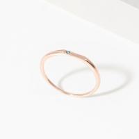 [천연다이아몬드][925실버] 씬데렐라 천연 러프 다이아 반지