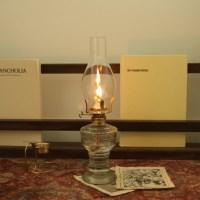 감성 빈티지 파라핀 오일램프 유리 오일 엔틱 캠핑 램프 집에서 불멍