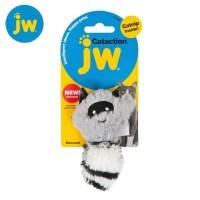 JW 너구리 회색 캣닙 고양이장난감_(597142)