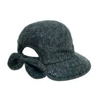JAU20.뒷리본 귀달이 중년 여성 벙거지 모자 버킷햇