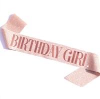 Twinkle Birthday Ribbon 트윙클생일어깨띠