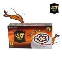 G7 카푸치노 모카 12T 베트남 커피믹스 수출용