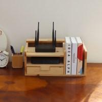 포메리트 삼나무 책꽂이 셋탑박스정리함 서랍형