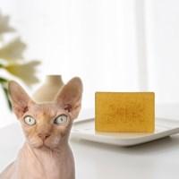 수솝 그린캣 핑크캣 고양이천연비누 샴푸(스핑크스/장모냥/노령묘))