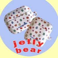 [뮤즈무드] jelly bear airpods case (하드에어팟케이스)