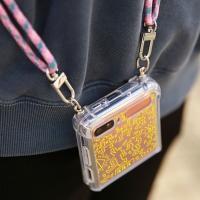 갤럭시Z플립 갤럭시Z플립2 5G 키스해링 젤하드 핸드폰 목걸이 케이스