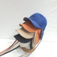 데일리 챙넓은 뽀글이 양털 무스탕 귀달이 볼캡 모자
