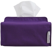 basic purple tissue cover
