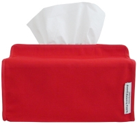basic red tissue cover