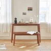 ACA 슬림 원목 콘솔테이블 / 콘솔벤치의자 / 스툴 / 테이블