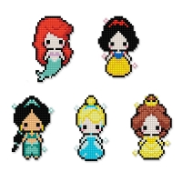 디즈니 DIY 프린세스 보석십자수 스티커형 아이러브페인팅