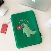 랩터공룡 laptop pouch (노트북, 아이패드 파우치)